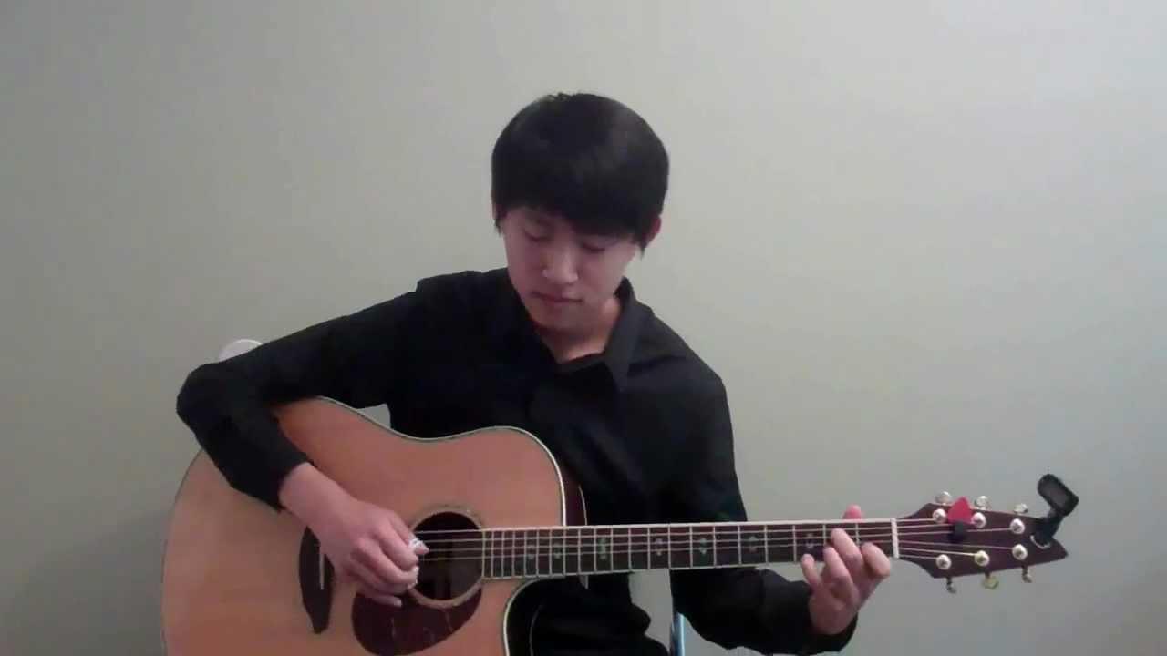 雪の華 ソロギター