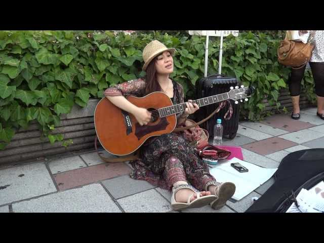 「悪女」 冨田麗香 名古屋路上ライヴ 2013.7.27